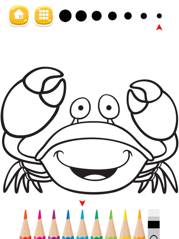 App Shopper Sea Animals Coloring Pages For Preschool And Free Coloring Apps