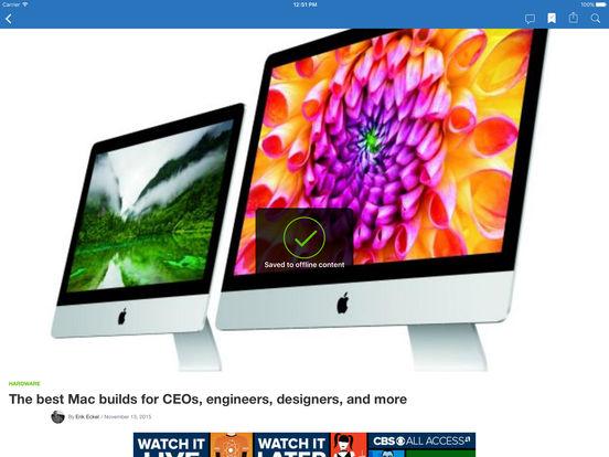 TechRepublic iPad Screenshot 2