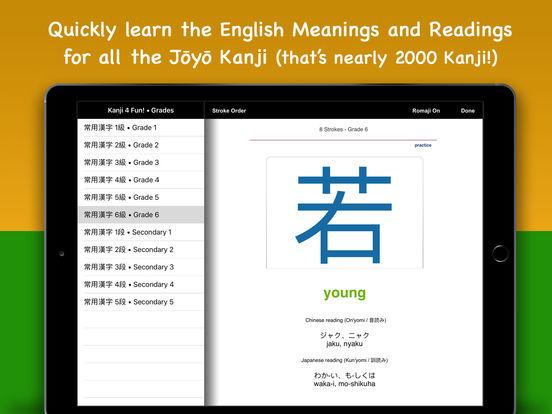 Kanji for Fun! iPad Screenshot 2