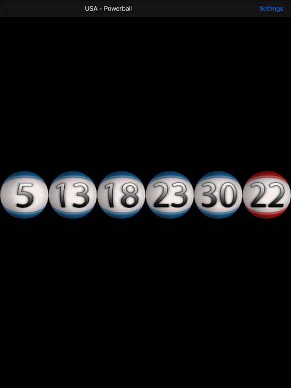 SpinIt2WinIt - 3D lucky lottery number generator Screenshots