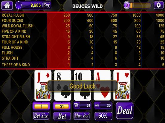 Poker 21 game
