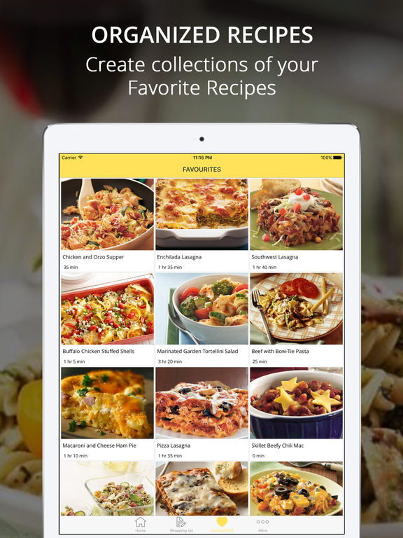Pasta Recipes Pro - Cook And Learn Guide Screenshots