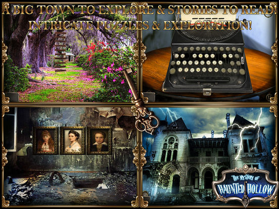 Mystery of Haunted Hollow: Point Click Escape Game Screenshots