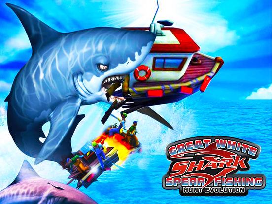 App shopper great white shark spear fishing hunt for Fish evolution game