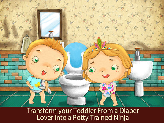 Potty Training Kids Learning With Animals App Tips Screenshots