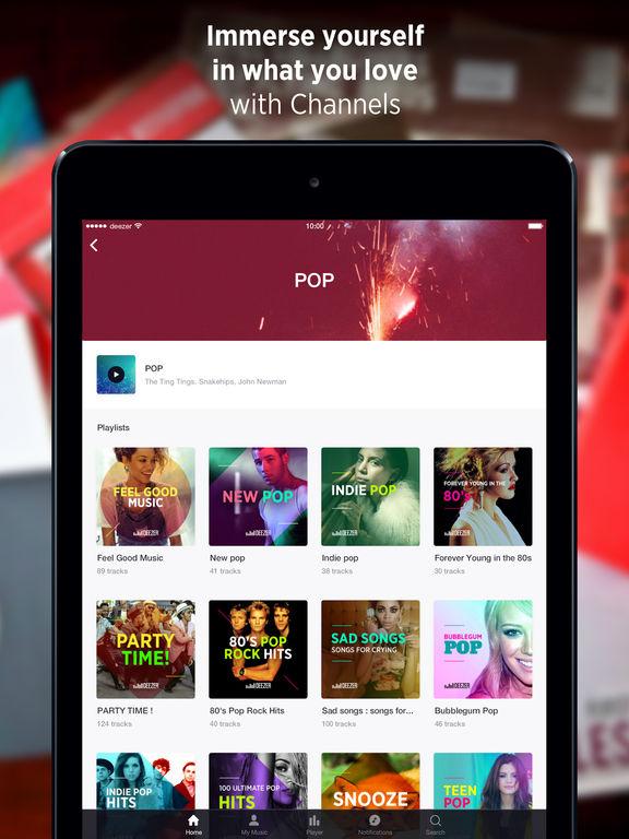 Deezer: Listen to music, songs & create playlists Screenshots