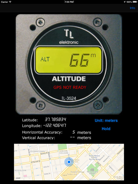 Digital Altimeter Screenshots