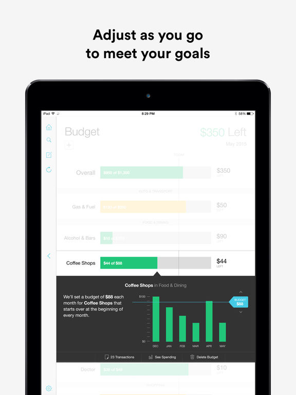 Mint: Money Manager, Budget & Personal Finance screenshot