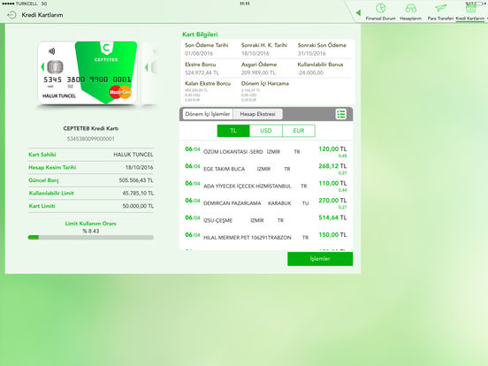 CEPTETEB iPad Screenshot 2