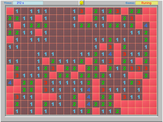 iMinesweeper iPad Screenshot 1