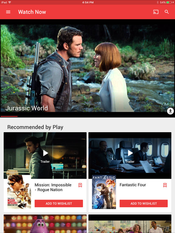 how to play my movies on ipad
