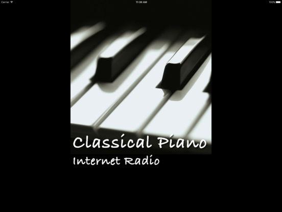 Classical Piano - Internet Radio Free music streaming app! screenshot