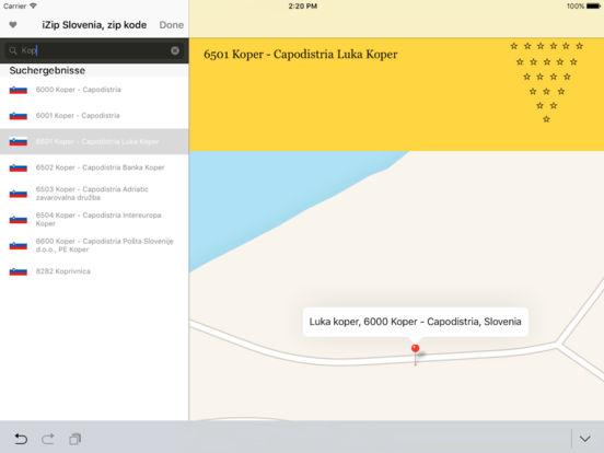 izip Slovenia iPad Screenshot 5