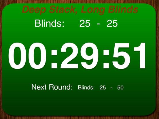 Poker Tourney Timer iPad Screenshot 5
