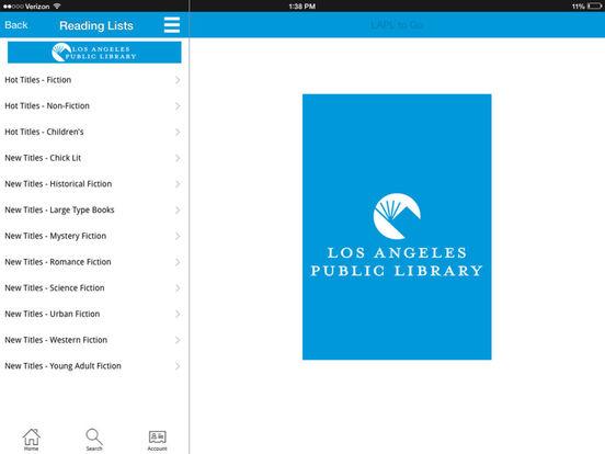 LAPL to Go iPad Screenshot 3