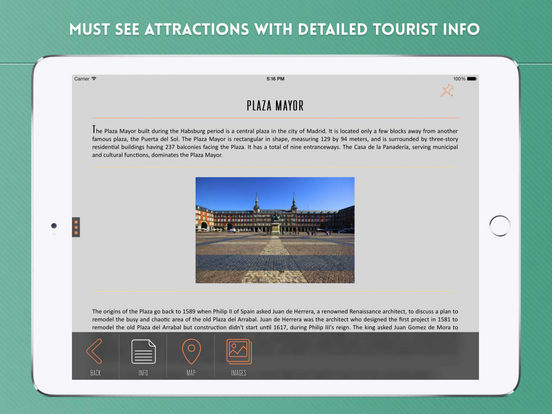 Madrid Travel Guide iPad Screenshot 3