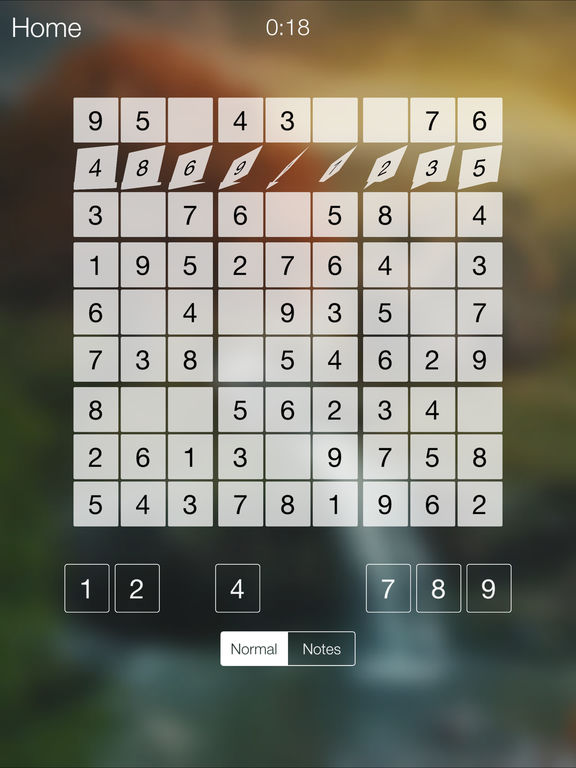 Sudoku Puzzle World screenshot