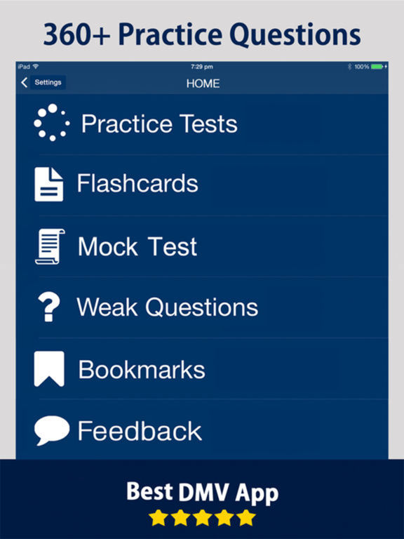 How Many Questions Are On The Permit Test >> App Shopper: Massachusetts RMV DMV Practice Exam Prep 2017 (Education)