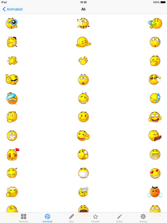 Emoji.s & Sounds Animated text Stickers Smileys keyboard for whatsapp messenger kik gmail zoosk zedge screenshot