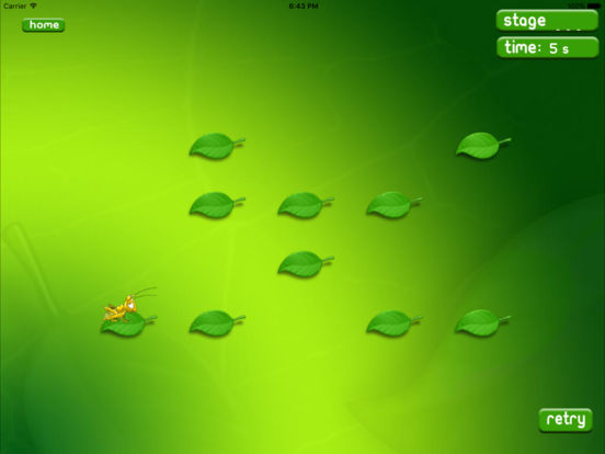 Leaf hopper HD iPad Screenshot 3