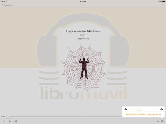 El Rayo de Luna - Audiolibro iPad Screenshot 2