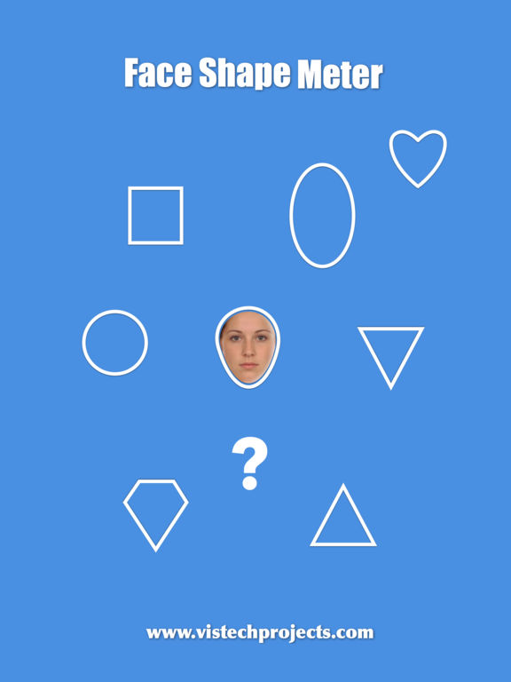 Face Shape Meter - find out face shape from photo Screenshots