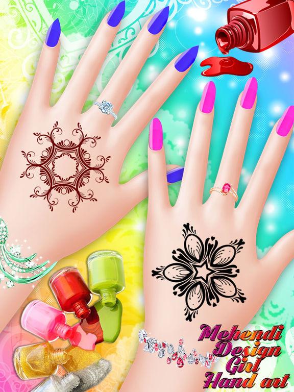 Mehndi Hand Decoration Games : App shopper mehndi design hand art and beauty salon
