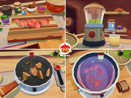 Скачать игру Mr. Luma Cooking Adventure