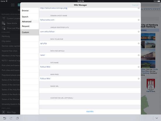 Wikipanion Plus for iPad iPad Screenshot 3