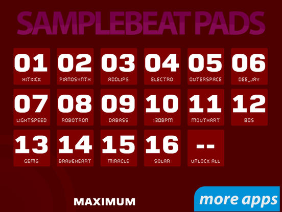 Samplebeat Pads (Premium) Screenshots