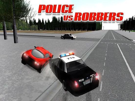 Полицейские Грабители Furious Racing - Уголовное C для iPad