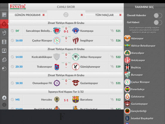 iFanatik iPad Screenshot 4