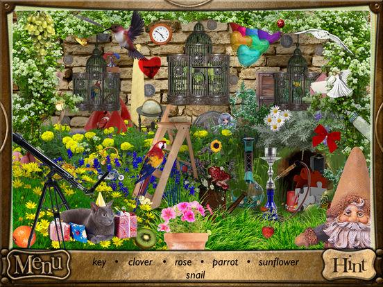 Alice in Wonderland: Hidden Objects Lite iPad Screenshot 1
