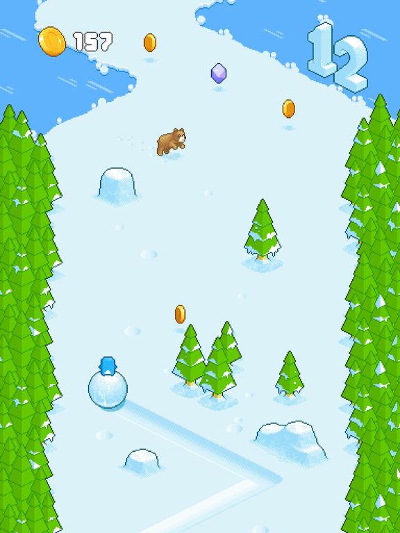 Snow Roll Screenshot