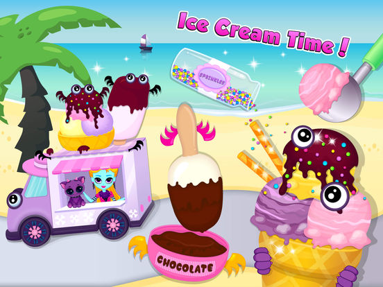 App shopper summer beach party dress up beauty game games - App Shopper Monster Sisters Summer Party Holiday