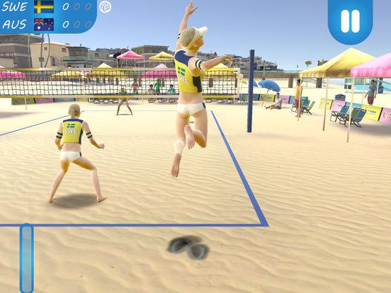 Скачать игру Beach Volleyball 2016
