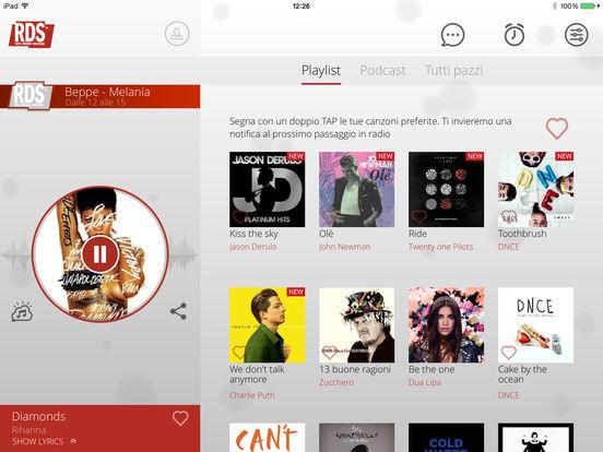 RDS iPad Screenshot 1