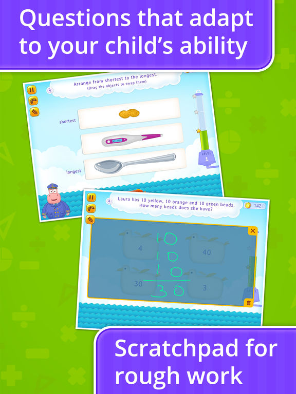 Splash Math: Kindergarten - Grade 5 Learning Games screenshot