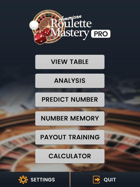 American roulette ipad app
