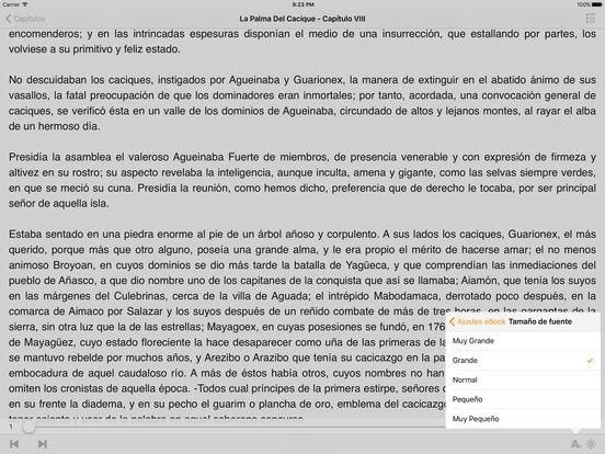 La Palma Del Cacique, Leyenda Histórica de Puerto Rico iPad Screenshot 2