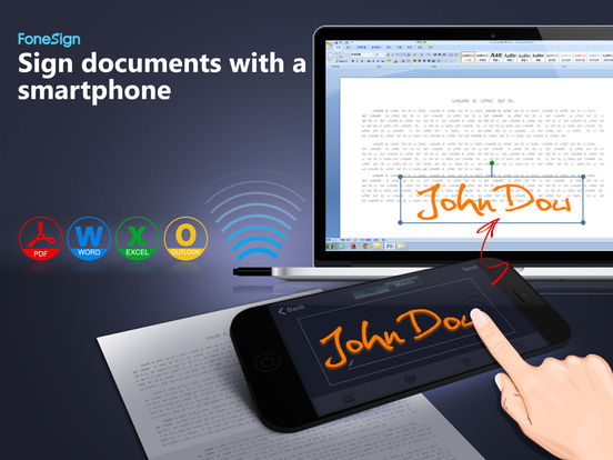 app shopper fonesign sign documents on a pc with With sign documents on your phone