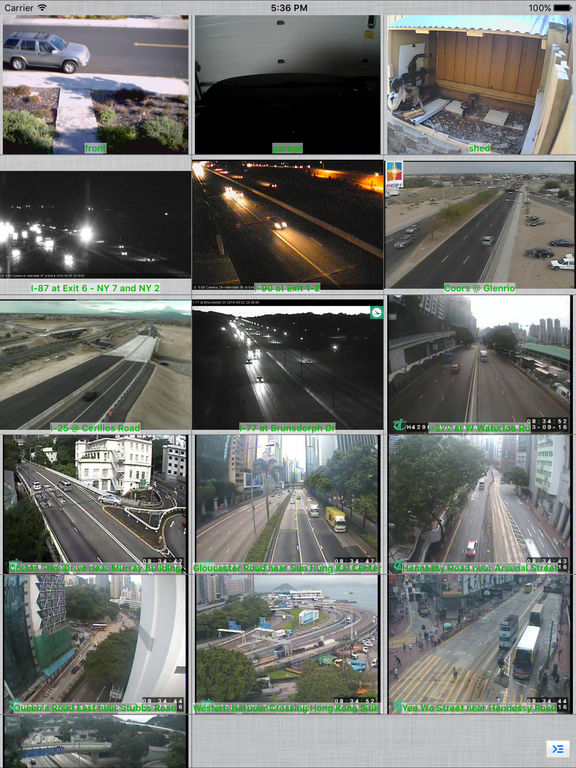 IP Cam Viewer Pro Screenshots