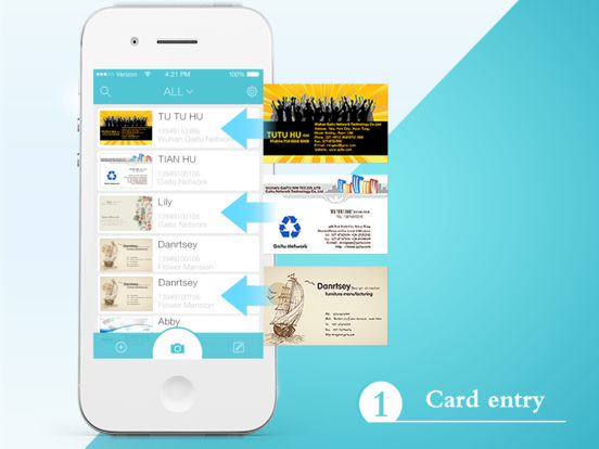 FoxCard Pro-Professional Business card scanner Screenshot