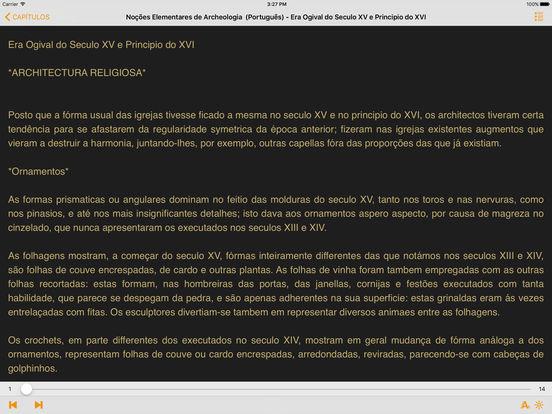 Noções Elementares de Archeologia – (Português) iPad Screenshot 2