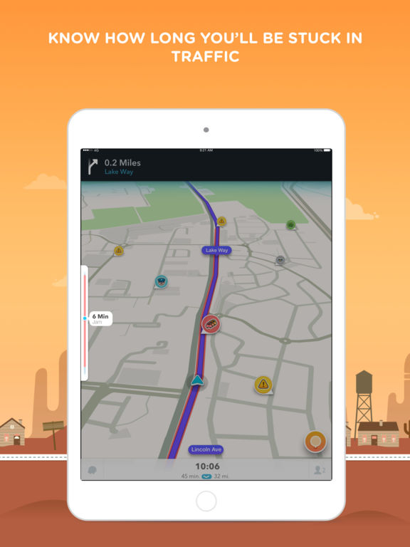 Waze - GPS Navigation, Maps & Social Traffic screenshot