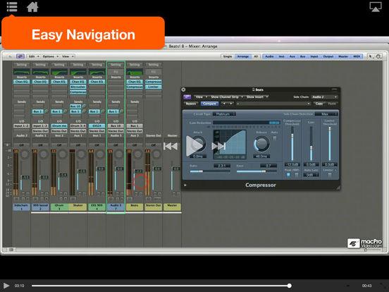 Logic's Electronica Workflow Tricks iPad Screenshot 4