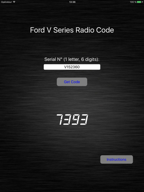 how to get radio code for free