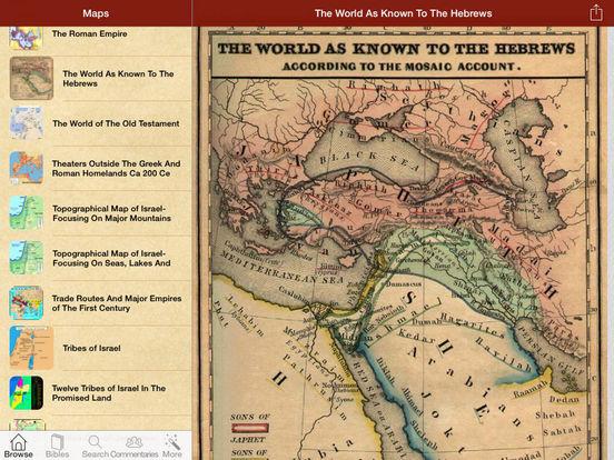 Mega Bible Maps (Bibles) iPad Screenshot 1