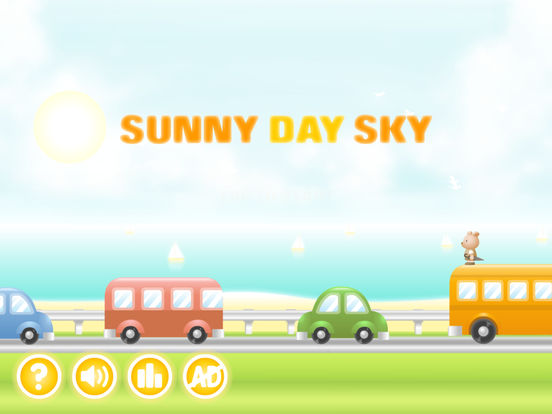 Sunny Day Sky iPad Screenshot 1