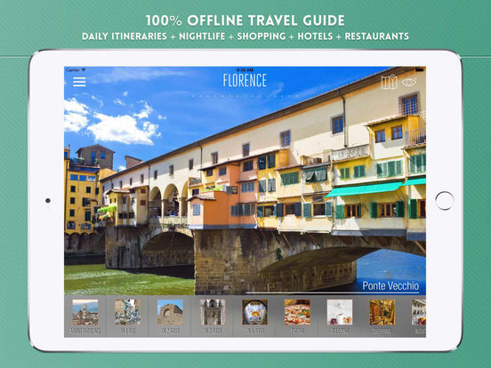 Florence: Travel Guide iPad Screenshot 1